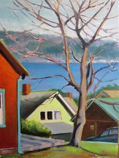 Part-time Whidbey resident, Phyllis Ray, artist and owner of Studio 106 in Langley