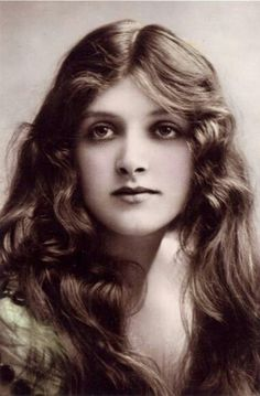 Gladys Cooper (I have never seen Gladys Cooper as a young woman in film as such in this photo. I became familar with her as a much older woman in film through TCM.  I cannot believe how beautiful she is! Have another picture of her on this board of how she looked in her older films and the ones I am use to seeing. Still  remained very striking.)