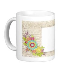 Your favorite photo is a great way to start the day. Use our white mug to showcase your creativity. It has a large handle that's easy to hold and comes in 11oz and 15oz sizes. Dishwasher and microwave safe. Makes a great gift! $15.95