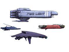 spaceship side view sprite - Google Search