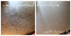 basic h is safe to use on painted furniture!