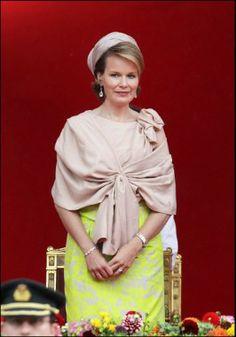 Nederlanders vinden prinses Mathilde 'té keurig' - Het Nieuwsblad