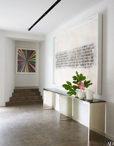 Apartment entryway architectural digest 36 New ideas Hallway Decorating, Interior Inspiration, Contemporary Interior Design, Decor Design, Contemporary Console, Entryway Decor, Interior Design Styles, Interior Design, Architectural Digest