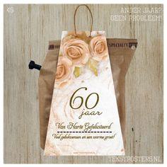 Wenskaart Koffie/Thee 45 60 jaar getrouwd (andere jaar kan ook) Van Harte Gefeliciteerd Veel gelukwensen en een warme groet