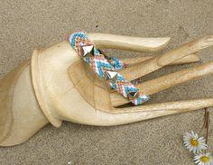 Studded friendship bracelet.. $15.99, via Etsy.
