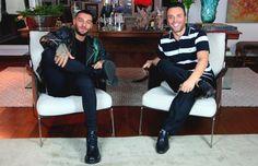Mister V entrevista cantor e ator Lucas Lucco (Foto: Divulgação)