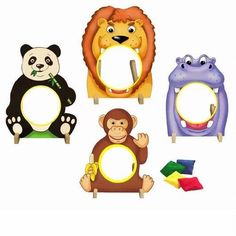 Zoo Themed Party Games: Bean Bag Toss