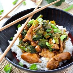 Chicken and Broccoli, a Chinese takeout classic made at home! It's so delicious and easy that it will make you think twice about delivery!