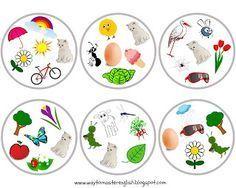 Podgląd miniatur o element napędowy Fun Games For Kids, Diy For Kids, Crafts For Kids, Google Drive, Toddler Fun, Toddler Preschool, Hugo Game, Spring, Vocabulary Games