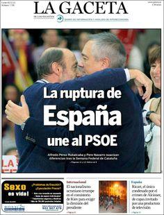 Los Titulares y Portadas de Noticias Destacadas Españolas del 2 de Diciembre de 2013 del Diario La Gaceta ¿Que le pareció esta Portada de este Diario Español?