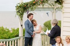 An Outdoor Seaside Wedding in Whitstable  | Photography by http://lmweddings.co.uk/