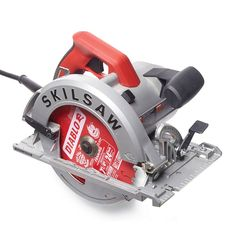 Skilsaw SPT67WM-22 - Circular Saw Review: What are the Best Circular Saws? Get the guide: http://www.familyhandyman.comtools/circular-saws/circular-saw-review-what-are-the-best-circular-saws