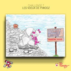 Les voeux de Piwooz #Piwooz #challenge #Dessin #amour #2021 #coloriage #couleur #citation Peanuts Comics, Challenges, Art, Staying Strong, Coloring Pages, Love, Quote, Color, Drawing Drawing