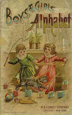 ПОСМОТРЕТЬ ВСЮ КНИГУ  Boys' and girls' alphabet http://ufdc.ufl.edu/UF00083388/00001/1j