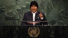 """Evo Morales: """"La guerra es el mejor negocio del capitalismo"""" http://es.rt.com/408i"""