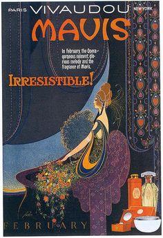 Fred L. Packer, Mavis Perfume ad, February 1920