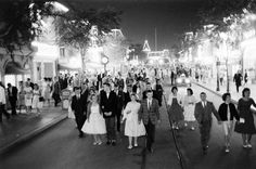 All Night Prom at Disneyland, 1961 - Photographed by Ralph Crane.