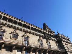 bebetecavigo. Edificios monumentales en Santiago de Compostela.