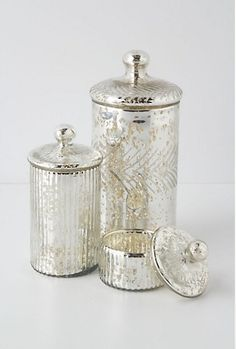 Mercury Glass On Pinterest Mercury Ornaments And Silver