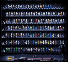 LEGO Star Wars Minifigure Display for the serious collector