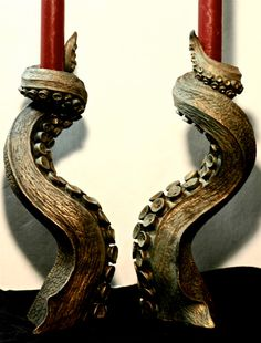 I would totally never spend this much on candle holders, but these are amazing anyway. Maybe if I win the lottery...