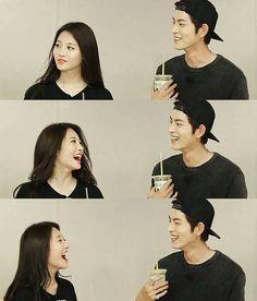 troublemaker jjongah <3 Hong Jong Hyun, Jung Hyun, Wgm Couples, Kim Ah Young, Girl's Day Yura, We Get Married, Korean Entertainment, Sweet Couple, Korean Celebrities