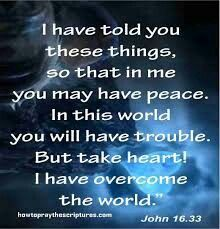 Become courageous take courage god is with you