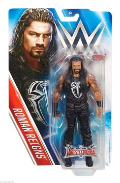 WWE WRESTLEMANIA 32 ROMAN REIGNS BASIC ACTION FIGURE WRESTLING BENT CARD - http://bestsellerlist.co.uk/wwe-wrestlemania-32-roman-reigns-basic-action-figure-wrestling-bent-card/