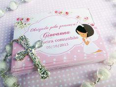 Tag agradecimento primeira comunhão  para mais informações acesse www.charmepapeteria.com
