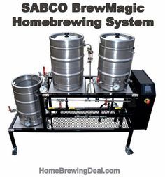 New SABCO BrewMagic Homebrewing System Now Available #Sabco #Brew #Magic #BrewMagic #homebrewing #system #brewrig #rig #sculpture #brewing #brewery #allgrain #homebrew #setup #homebrewinggear #homebrewingsetup