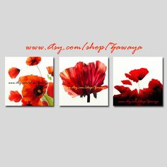 red poppies paintings prints