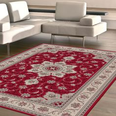 Dynasty Traditional Collection Floor Rugs/Carpet in 120cm x 170cm