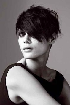 short messy haircuts for oval faces - Google Search