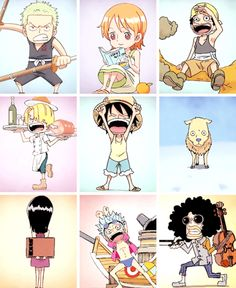 Young strawhats