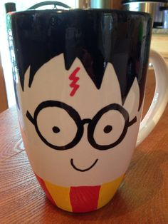 Harry Potter mug hand painted on Etsy, $12.00
