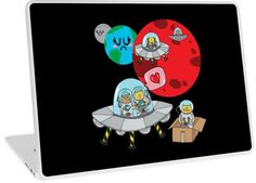 'Space Cats' Laptop Skin by Adrian Serghie Canvas Prints, Framed Prints, Art Prints, Space Cat, Glossier Stickers, Laptop Skin, Art Boards, Duvet Covers, Ipad
