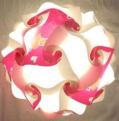 30 PIECE IQ Jigsaw Modern Puzzle Lamp Shade INFINITY LIGHT MEDIUM ...