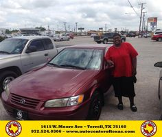 Congratulations to Jacqueline Scroggins on your #Toyota #Camry purchase from Kara Short at Auto Center of Texas! #NewCar