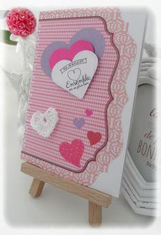 Carte de St Valentin Cœur Tendre : Cartes par les-extravagances-de-bella