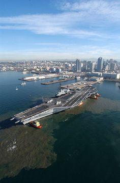 USS Midway Jan 2004, San Diego