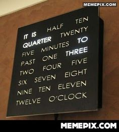 this is such a cool clock