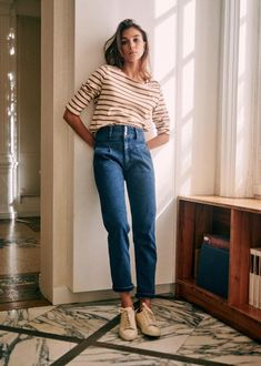 Spring Summer Fashion, Spring Outfits, Spring Style, Spring Fashion Trends, Style Parisienne, Colette, Outfits Mujer, Coton Biologique, Outfits