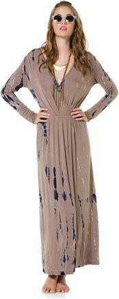 FRAICHE BY J HARTLEY TIE DYE MAXI DRESS > Womens > Clothing > Dresses   Swell.com