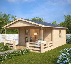 gartenhaus mit dachterrasse stockholm 25m 58mm 5x5 in 2018 blockh user ferienh user. Black Bedroom Furniture Sets. Home Design Ideas