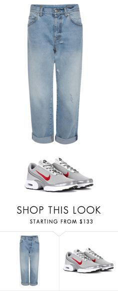 """1"" by svetlankaleto on Polyvore featuring мода и NIKE"