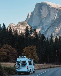 Yosemite is something that has been on my bucket list for ages and I think #vanlife is the perfect way to see it! I love that this couple lives and works in a campervan conversion. Great interview with tricks and hacks for living in a van. This is my dream camper!