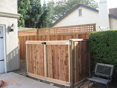 privacy enclosure for trash cans Garbage Can Storage, Garbage Shed, Bin Storage, Hide Trash Cans, Outdoor Trash Cans, Outdoor Spaces, Outdoor Living, Outdoor Decor, Outdoor Ideas