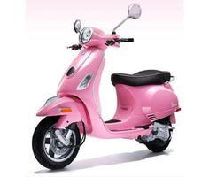 pink vespa :)