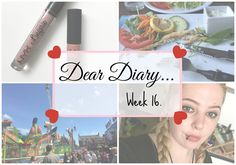 Going To The Fair & Trying Dutch Braids. | Dear Diary Week 16. | Beauty-Blush