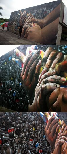 CASE MACLAIM http://www.widewalls.ch/artist/case-maclaim/ #AndreasvonChrzanowski #Case #MaclaimCrew #urbanart #graffiti #streetart #illustrations x Lazoo New Mural In São Paulo, Brazil